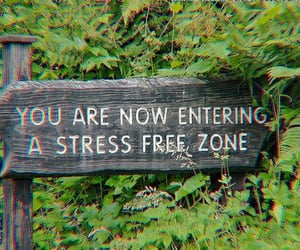 stress, nature, and green image