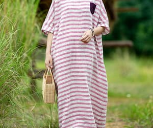 etsy, long dress, and loose dress image