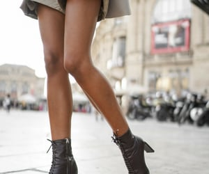 blogger, boots, and fashion image