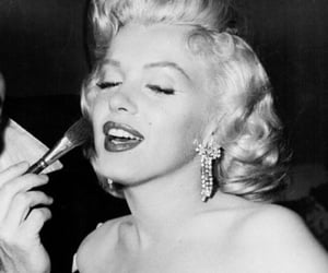 50s, vintage, and marilyn image