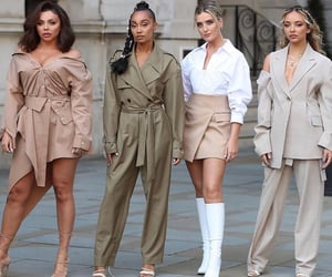 little mix, fashion, and live lounge image