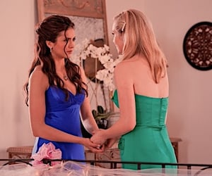 dress, girls, and tvd image
