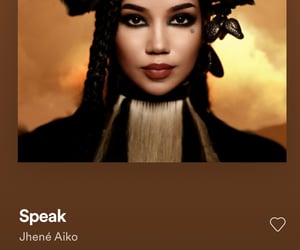 jhene aiko, spotify, and speak image