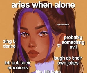 aries, astrology, and sign image