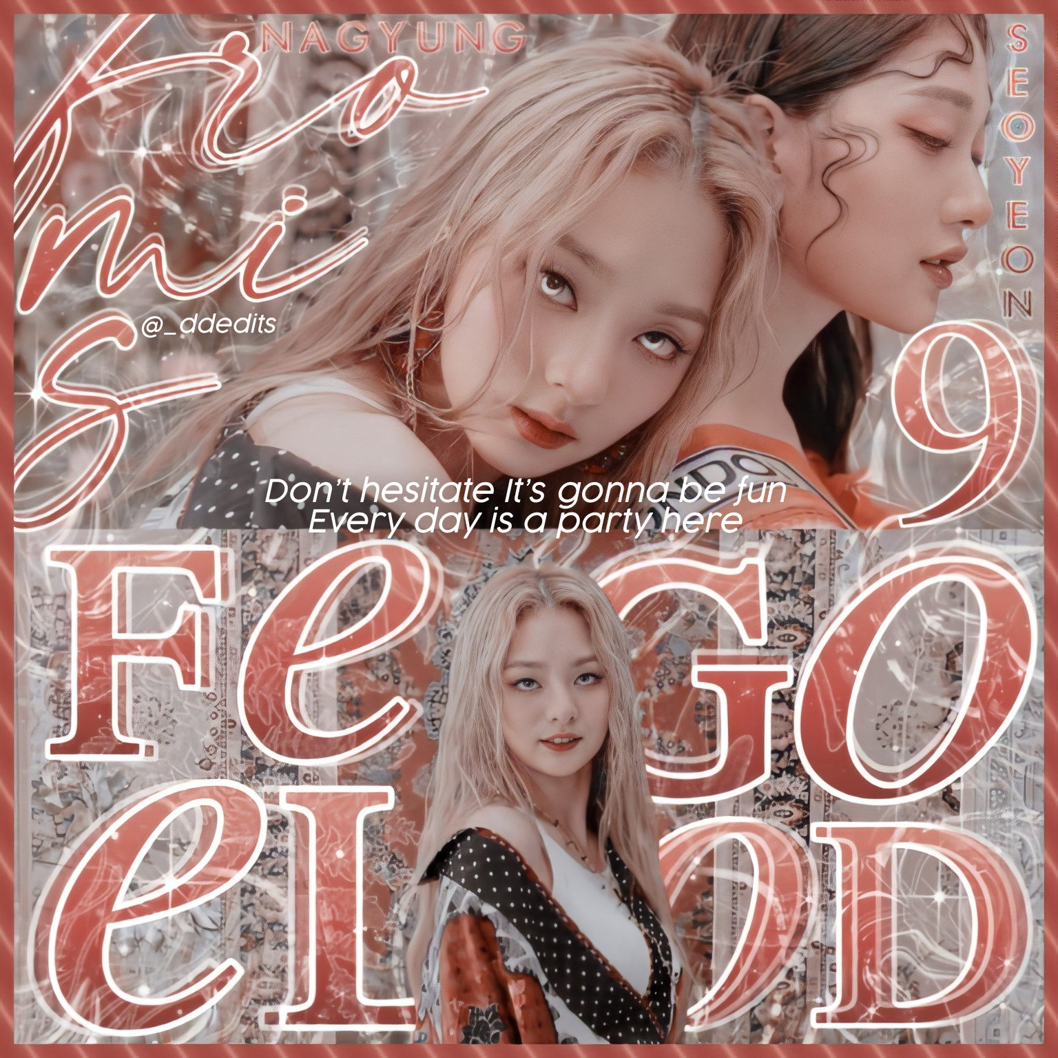 fromis9, fromis_9, and mvedit image