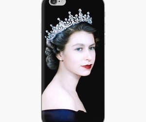 iphone cover and queen elizabeth image