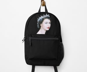 bags, queen elizabeth, and backpack image