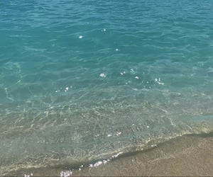 beach, blue, and clear image