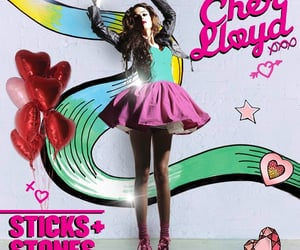 cher lloyd, swagger jagger, and sticks & stones image