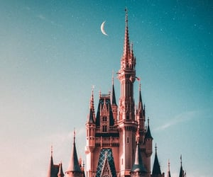 moon and castle image