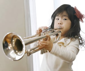 lessons, for children, and trumpet image