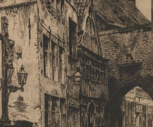etchings, art, and belgian image