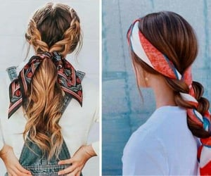 hairstyles, fashion trends, and hair goals image
