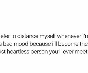 heartless, mood, and person image