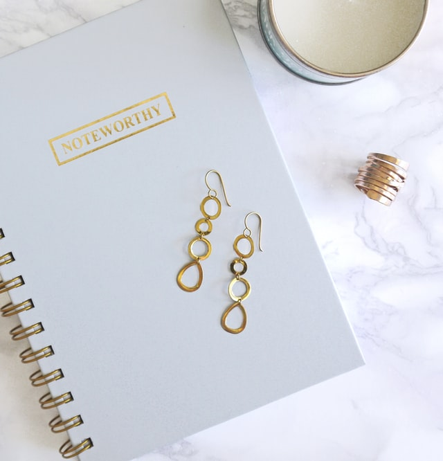 article, fashion, and autumn earrings image