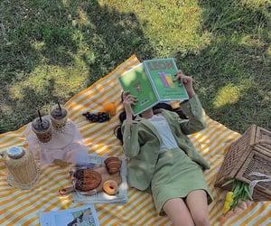 picnic, food, and girl image