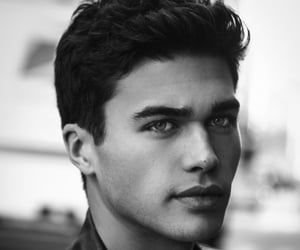 handsome, model, and laurence coke image