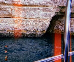 blue, orange, and sea image