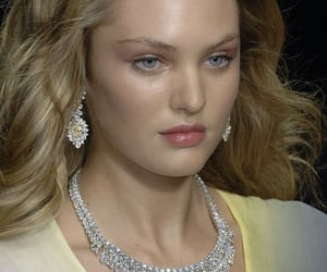young, candice swanepoel, and yellow jewelry image