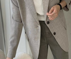 blazer, casual, and fashion image