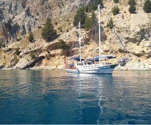 sailing, ☎, and 👍 image