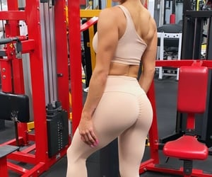 booty, butt, and fit image