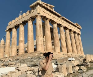 acropolis, brown, and cafe image