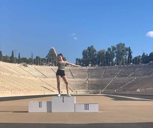 Athens, olympic, and athletic image