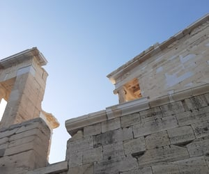 acropolis, Athens, and cafe image