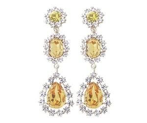 earrings, jealousy, and yellow image