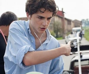 handsome, cute, and timothee chalamet image