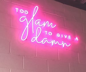 quotes, feelings, and neon image