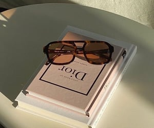dior and book image