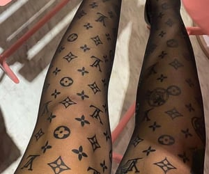 fashion, Louis Vuitton, and tights image