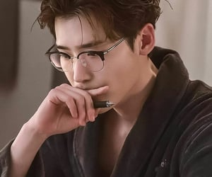 actor, glasses, and handsome image