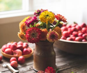 apples, bouquet, and colorful image