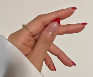 nails, tips, and red image
