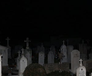 dark, cemetery, and grunge image