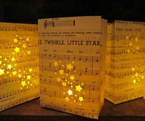 music, stars, and christmas image