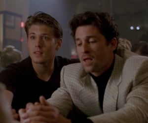 Jensen Ackles, patrick dempsey, and 2001 image