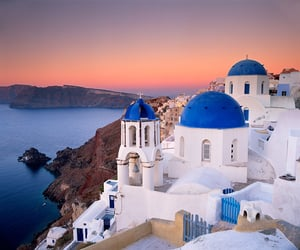 article, cruise, and santorini image