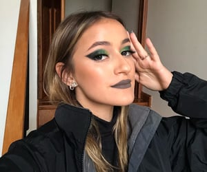 aesthetic, dark, and eyeliner image