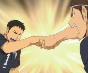 anime, daichi, and haikyuu image
