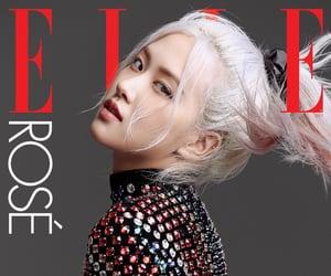 Elle, magazine, and blackpink image