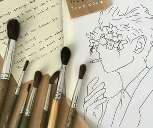 aesthetic, art, and drawing image