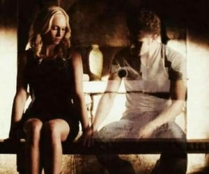 death, mystic falls, and love image