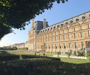city, france, and garden image