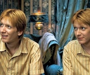 harry potter, fred weasley, and george weasley image