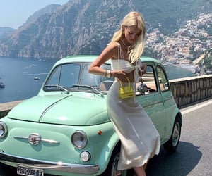 car, girl, and iloveit image