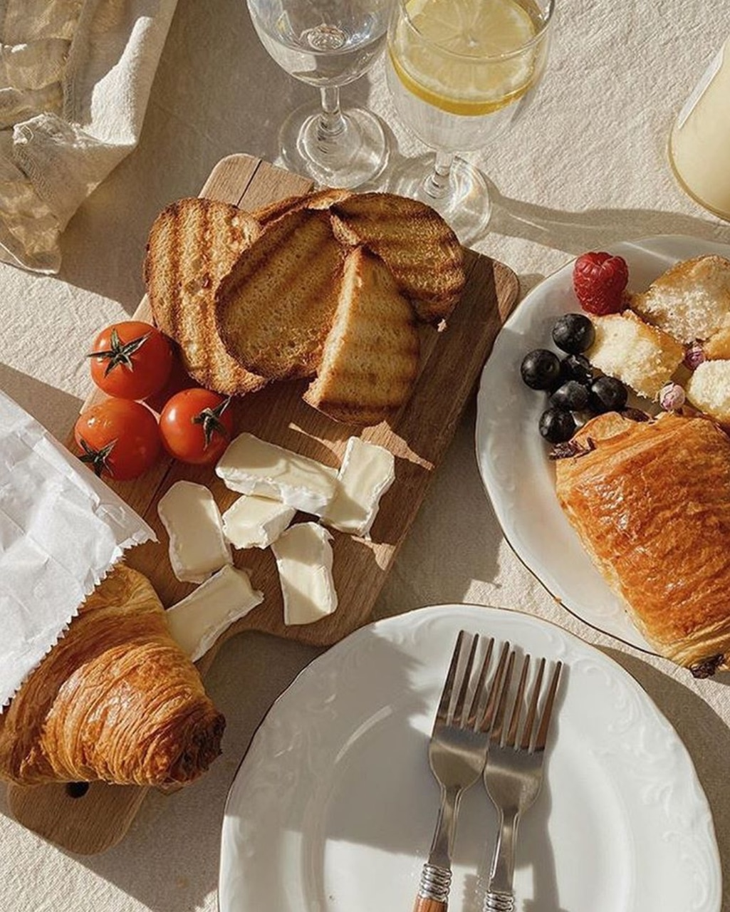 croissants, food, and delicious image